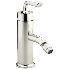 Purist Horizontal Swivel Spray Areator Bidet Faucet with Smile Design Handle