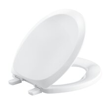 French Curve with Quick-Release Hinges Round-Front Toilet Seat