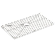 """Vault /Strive Stainless Steel Sink Rack, 32"""" x 16-11/16"""" for 36"""" Single-Bowl Apron-Front Sink"""