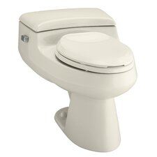 San Raphael Comfort Height One-Piece Elongated 1.0 GPF Toilet with Pressure Lite Flush Technology and Left-Hand Trip Lever