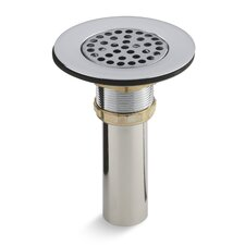 """Brass Sink Strainer with Tailpiece for 3-1/2"""" To 4"""" Outlet"""