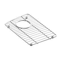 "Wheatland 9-1/8"" x 14-3/8"" Stainless Steel Sink Rack, for Left Bowl"