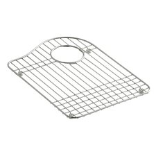 """Hartland Stainless Steel Right-Hand Side Sink Rack, 12-3/16"""" x 14-13/16"""""""