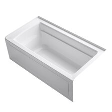 "Archer Integral Apron 60"" x 32"" Soaking Bathtub"