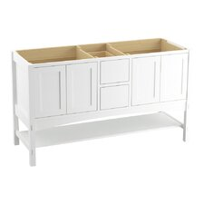 """Marabou 60"""" Vanity Base with 4 Doors and 2 Drawers"""