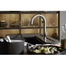 "Sensate Touchless Kitchen Faucet with 15-1/2"" Pull-Down Spout, Docknetik Magnetic Docking System and A 2-Function Sprayhead Featuring The New Sweep Spray"