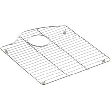 """Wheatland 15-5/16"""" x 16-7/8"""" Stainless Steel Sink Rack, for Right Bowl"""