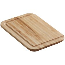 Hardwood Cutting Board, for Undertone , Cadence , Iron/Tones , and Toccata Kitchen Sinks