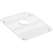 """Efficiency Vinyl Coated Steel Sink Rack, 14-1/4"""" x 17-1/2"""""""