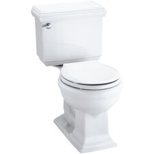 Memoirs Classic Comfort Height Two-Piece Round-Front 1.28 GPF Toilet with Aquapiston Flush Technology and Left-Hand Trip Lever