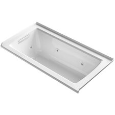 """Archer 60"""" x 30"""" Alcove Whirlpool with Integral Flange"""