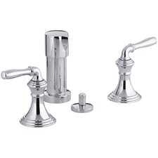 Devonshire Vertical Spray Bidet Faucet with Lever Handles