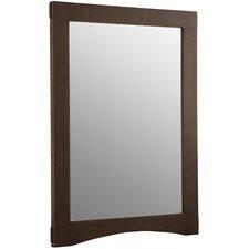 "Westmore 24"" W x 33"" H Wood-Frame Mirror"