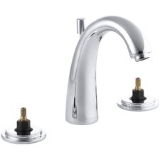 Taboret Widespread Bathroom Sink Faucet with High Arch Spout, Requires Handles