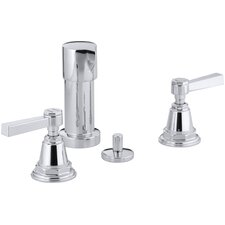 Pinstripe Pure Vertical Spray Bidet Faucet with Lever Handles