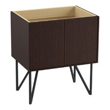 """Jute 30"""" Vanity Base with Furniture Legs and 2 Doors"""