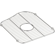 Staccato Stainless Steel Large Sink Rack for Right-Hand Bowl
