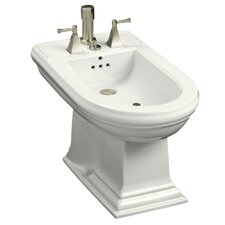 Memoirs Vertical Spray Bidet with 4 Faucet Holes