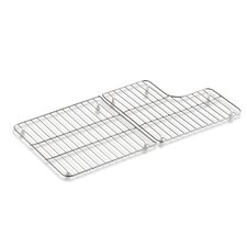 "Stainless Steel Sink Racks for 36"" Whitehaven"