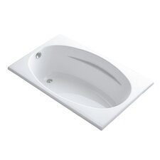 Rêve Freestanding Bath with Float Installation and Brilliant Ash Base without Jet Trim