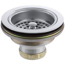 Duostrainer Sink Strainer, Less Tailpiece