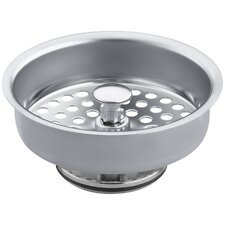 Duostrainer Manual Sink Basket Strainer