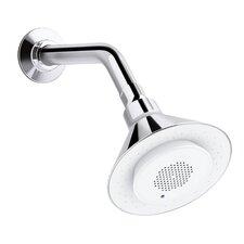 Moxie 2.0 GPM Single-Function Shower Head with Wireless Speaker