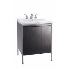 "Persuade Vanity / Persuade Vanity-Top Bathroom Sink with 8"" Widespread Faucet Holes"