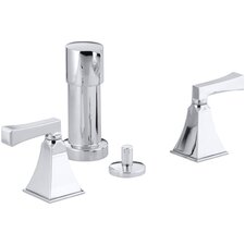 Memoirs Stately Vertical Spray Bidet Faucet with Deco Lever Handles