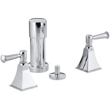 Memoirs Stately Vertical Spray Bidet Faucet with Lever Handles