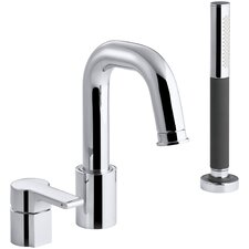 Singulier Deck-Mount Bath Filler with Handshower