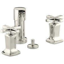 Margaux Vertical Spray Bidet Faucet with Cross Handles