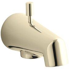 "Standard 4-7/8"" Diverter Bath Spout with Rod-Shaped Knob"