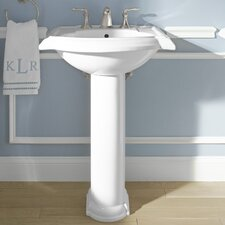Devonshire Bathroom Sink with Single Faucet Hole