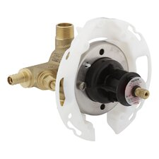"""Rite-Temp 1/2"""" Pressure-Balancing Valve with Screwdriver Stops and Pex Crimp Connections"""