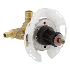 """Rite-Temp 1/2"""" Pressure-Balancing Valve with Screwdriver Stops and Pex Expansion Connections"""