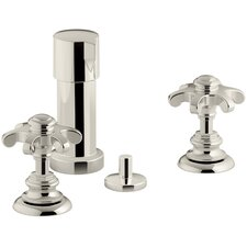 Artifacts Wall-Mount Handshower Holder and Supply Elbow