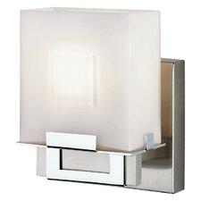 Square 1 Light Bath Vanity Light