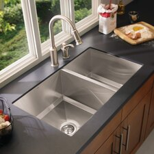 1600 Series Double Bowl Kitchen Sink