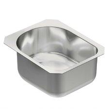 """1800 Series 18.5"""" x 15"""" Single Bowl Kitchen Sink"""