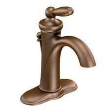 Brantford Single Handle Single Hole Bathroom Faucet