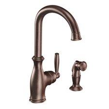 Brantford Single Handle Single Hole Kitchen Faucet