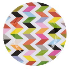 "Ziggy 11"" Melamine Dinner Plate (Set of 4)"