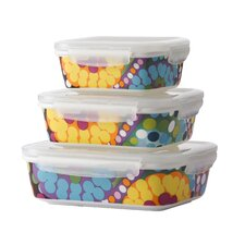 Bindi 3-Piece Porcelain Storage Container Set