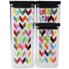 Ziggy 3-Piece Airtight Food Storage Container Set