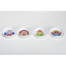 Princess Kids Bowls (Set of 4)