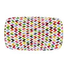 Ziggy Melamine Rectangular Platter (Set of 2)
