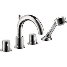 Axor Uno Double Handle Widespread Roman Tub Faucet Trim