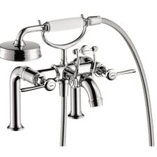 Axor Montreux Two Handle Wall Mounted Freestanding Tub Filler with Hand Showe