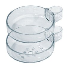 Showerpower Cassetta Double Soap Dish